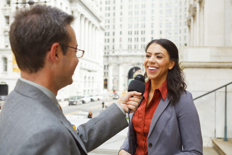 Learn how to work with the media as a small business person