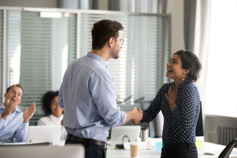 Showing employees appreciation can increase employee engagement and retention